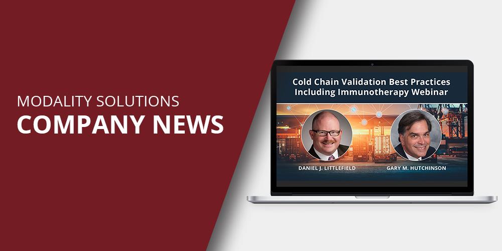 Modality Solutions Announces Webinar On-Demand Replay
